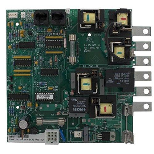 Balboa 51955 Printed Circuit Board para 58-138-1146 (Board Balboa)