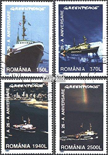 romania-5234-5237-completaproblema-1997-26-anni-greenpeace-francobolli-