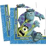 Amscan International Disney Monsters University Paper Napkins