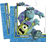 Disney Amscan International Serviettes en papier Monstres Academy