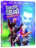 Suicide Squad [Blu-ray + Blu-ray Extended Edition + Copie digitale UltraViolet - Édition boîtier SteelBook] [Import italien]
