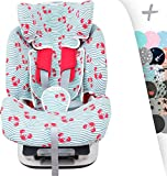 Housse pour Chicco Seat Up 0, 1, 2 et Chicco YOUniverse Janabebé  (Crabby)