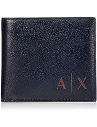 7f99be4c6a ARMANI EXCHANGE - Logo Coin Case, Portafoglio Uomo
