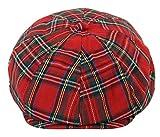 Herrenmütze Tweed Peaky Blinders Design Kariert Grandad Stil Elastisch Rabatt Preis