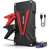 BuTure Booster Batterie - 800A 12800mAh Portable Jump Starter (Jusqu'à 6.0L Essence/5.0L Gazole) Démarrage de Voiture…