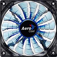 Aerocool Shark Ventola da 120 mm a 1500 Giri, Blu