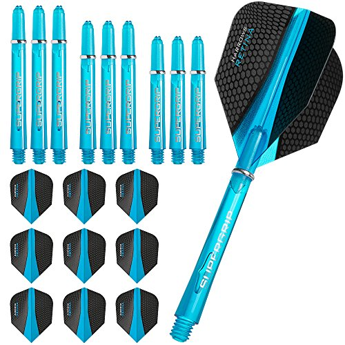 harrows-retina-flights-and-shafts-combo-kit-3-sets-9-standard-flights-3-sets-supergrip-shafts-aqua-b