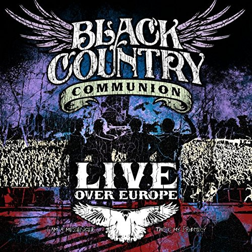 Black Country Communion - Live Over Europe [Blu-ray] Black Hd-dvd