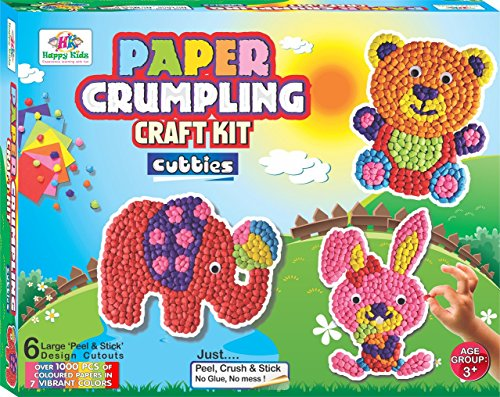 Happy Kidz 7894568 Art Craft Kit Paper Crumpling Best Price In India