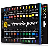 Best Ensembles d'art - Colore - Ensemble d'Aquarelle - Ensemble de peinture Review