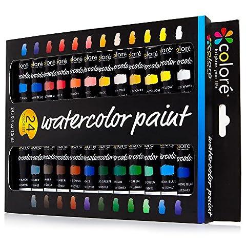 Colore - Ensemble d'Aquarelle - Ensemble de peinture d