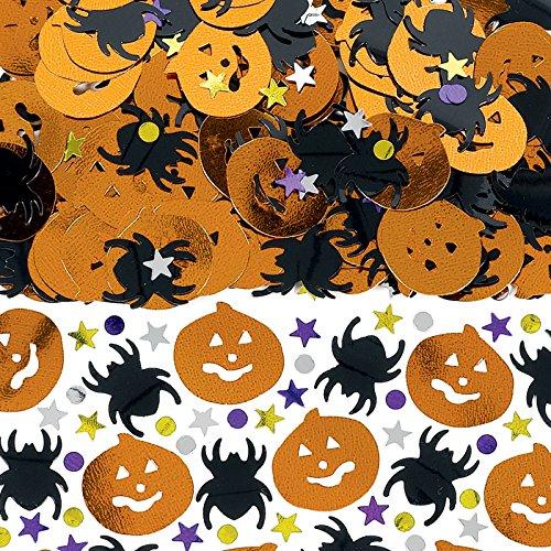 Preisvergleich Produktbild Amscan International 999759 Metallic Halloween Mix Konfetti,  14 g