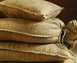 NOOR Sacchi di Sabbia in Iuta, 20 kg (30 x 60 cm), Confezione da 10