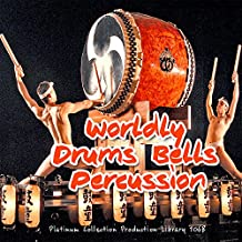 Worldly Drums And Percussion Instruments–Huge Unique, Very Useful Original Studio 24bit Wave muestras/Loops/Grooves Library on 3DVD over 10.5GB on DVD or Download