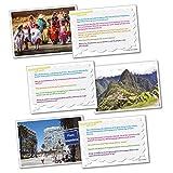 Wildgoose Education wg2824pensamiento... Geografía América del Sur Tarjeta (Pack de 20)