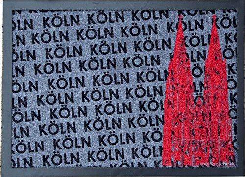 Fußmatte 50 x 70 cm Köln