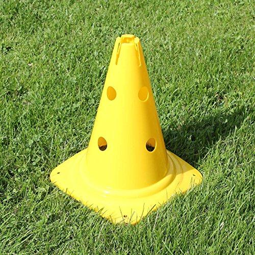 Kombi-Kegel 30 für Teamsportbedarf Fußballtraining (gelb)