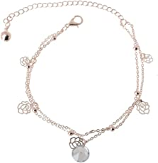 Charms Anklet for Women (Metallic)(cr0244e)
