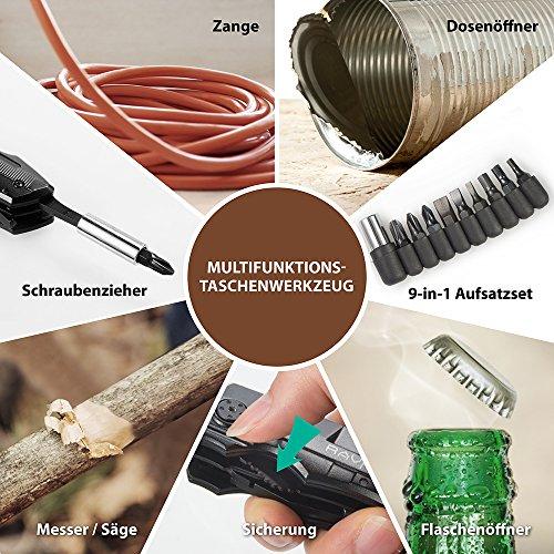 RAVPower 5-in-1 Multi-Tool Taschenwerkzeug