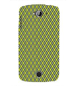 Checks Pattern 3D Hard Polycarbonate Designer Back Case Cover for Acer Liquid Zade Z530 : Acer Liquid Zade Z530S