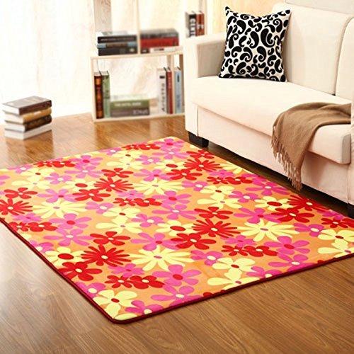 SED Carpet-Contemporary Minimalistischen Europäischen Stil Bedside Teppich Schlafzimmer Wohnzimmer Sofa Couchtisch Teppich Rechteckige Teppich Eingangshalle Veranda Wasseraufnahme Schnell Trocknend,8 (Contemporary-bad-teppich)