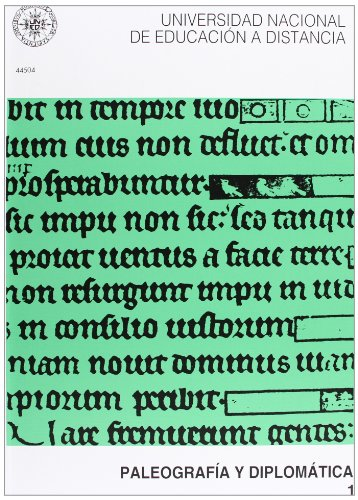 Paleografía y Diplomática, 2 volúmenes  (UNIDAD DIDÁCTICA)