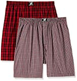 #3: Hanes Men's Checkered Boxers (Pack of 2)