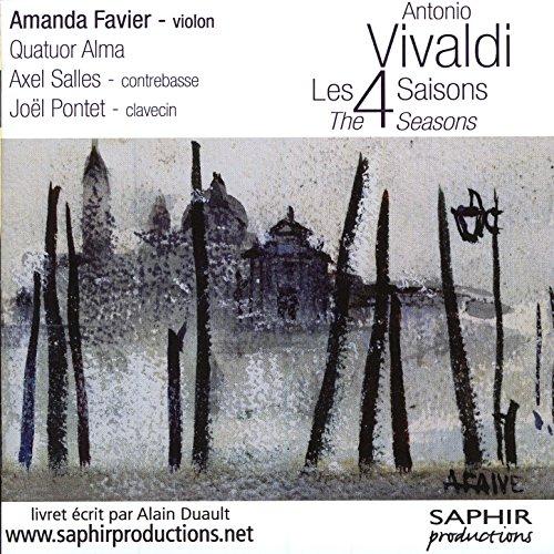 VIVALDI - Quatuor Alma - Les 4 saisons