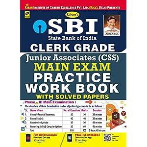 Kiran's SBI Clerk Grade Jr. Associates (CSS) Main Exam Practice Work Book - 2251