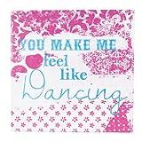 Enesco 181517 Colourful Devotions, Feel Like Dancing Pack 2