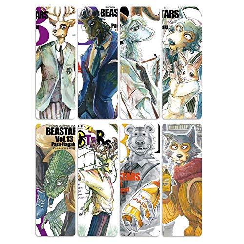 RedCherry Anime Beastars - Segnalibro in PVC trasparente, idea regalo per i fan H02