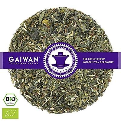 """N° 1343: Thé vert bio """"Green Energy (énergie verte)"""" - feuilles de thé issu de l'agriculture biologique - GAIWAN® GERMANY - thé vert d'Afrique, maté, citron, citronnelle, menthe poivrée, guarana"""