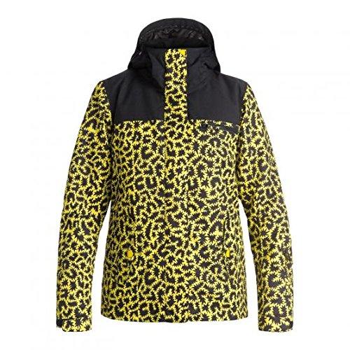 Roxy Rx Jetty Blo Jk J Snjt Wbb7, Color: Hattie Stewart Zigzag Leopard, Size: L