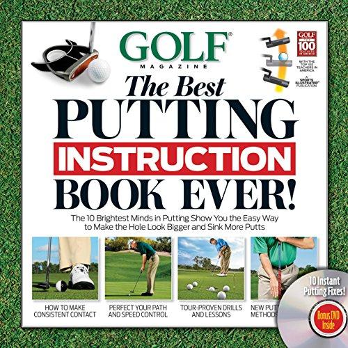 GOLF The Best Putting Instruction Book Ever! (Book & DVD)
