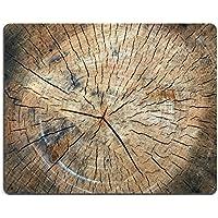 Liili Mouse Pad-Tappetino per Mouse in gomma naturale con immagine ID 32729398 taglio Tronco di legno - Taglio Mats Immagini