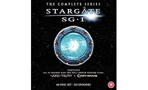 Stargate SG-1 - Complete Season 1-10 plus The Ark of Truth/ Continuum  [DVD]