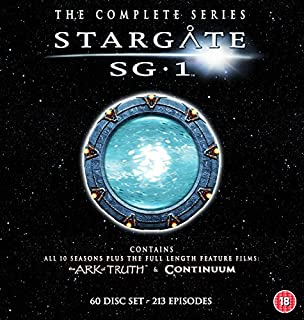 Stargate SG-1 - Complete Season 1-10 plus The Ark of Truth/ Continuum [DVD] (B0099JPRBK) | Amazon Products