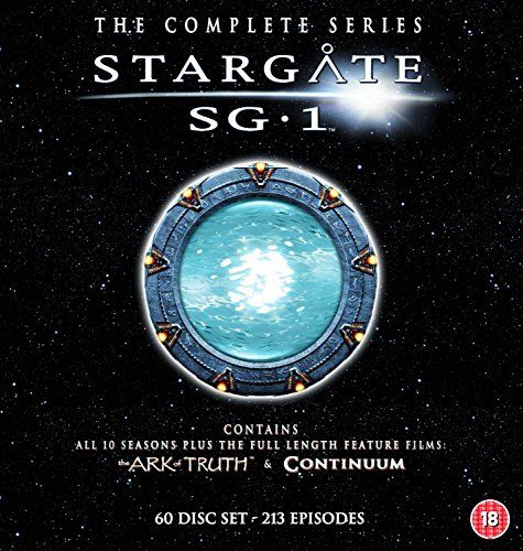Stargate SG-1 - Complete Season 1-10 plus The Ark of Truth/ Continuum [DVD]  [Import italien]