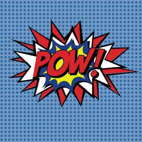 """Pow !: Blank Comic Book. Create Your Own Comic Book Journal Notebook: 110 Pages, Large 8.5"""" x 8.5"""", Variety of Templates For Comic Book Drawing, Idea and Design Sketchbook"""