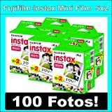 Fujifilm Instax Mini Film – 5 x 20 carretes – 100 fotos