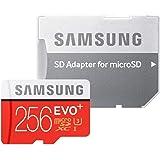 Samsung Evo Plus 256GB UHS-I MicroSDXC Memory Card with Adapter