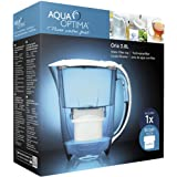 Aqua Optima Oria Water Filter Jug, White, 2.8Litres