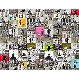 Fototapete Banksy Collage 396 x 280 cm Vlies Wand Tapete Wohnzimmer Schlafzimmer Büro Flur Dekoration Wandbilder XXL Moderne Wanddeko - 100% MADE IN GERMANY - Runa Tapeten 9084012a
