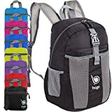 Best Travel Carry On Backpacks - Bago Lightweight Backpack. Water Resistant Collapsible Rucksack Review