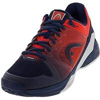 HEAD Revolt Pro 2.5 Mens Tennis Shoes, Color- Blue/Orange, Shoe Size