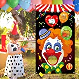 Carnival Toss Games with 3 Bean Bag, Fun Carnival Game for Kids and Adults in Carnival Party Activities, Great Carnival Decorations