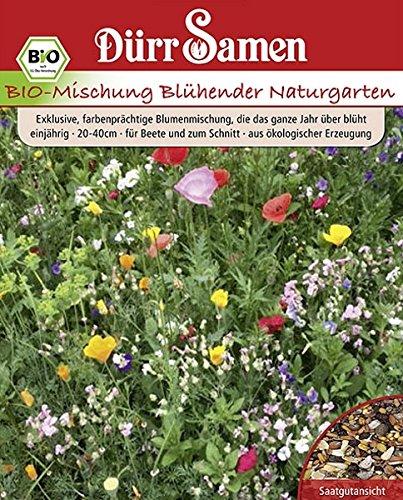 Sommerblumen Naturgarten Bio Mischung Samen