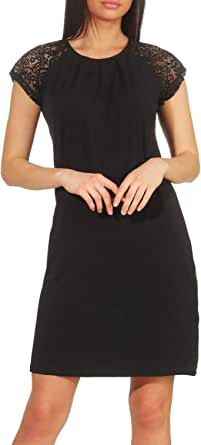 Vero Moda Vmalberta SS Lace Dress Noos Vestito Donna