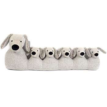 71Cm Grey Dog Draught Excluder ~ Door Draught Cushion: Amazon.co.uk ...