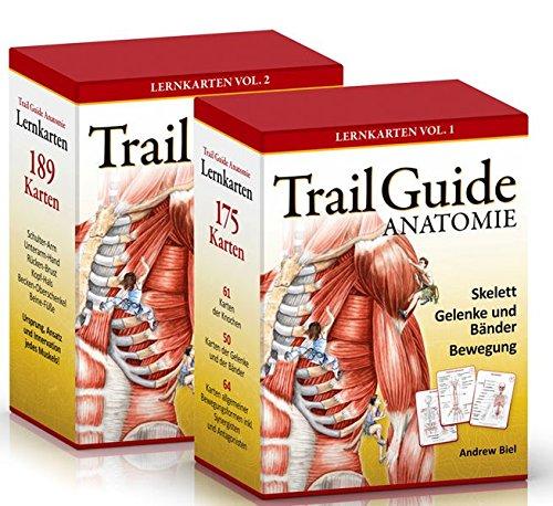 trail guide anatomie: lernkarten-set vol. 1 + vol. 2